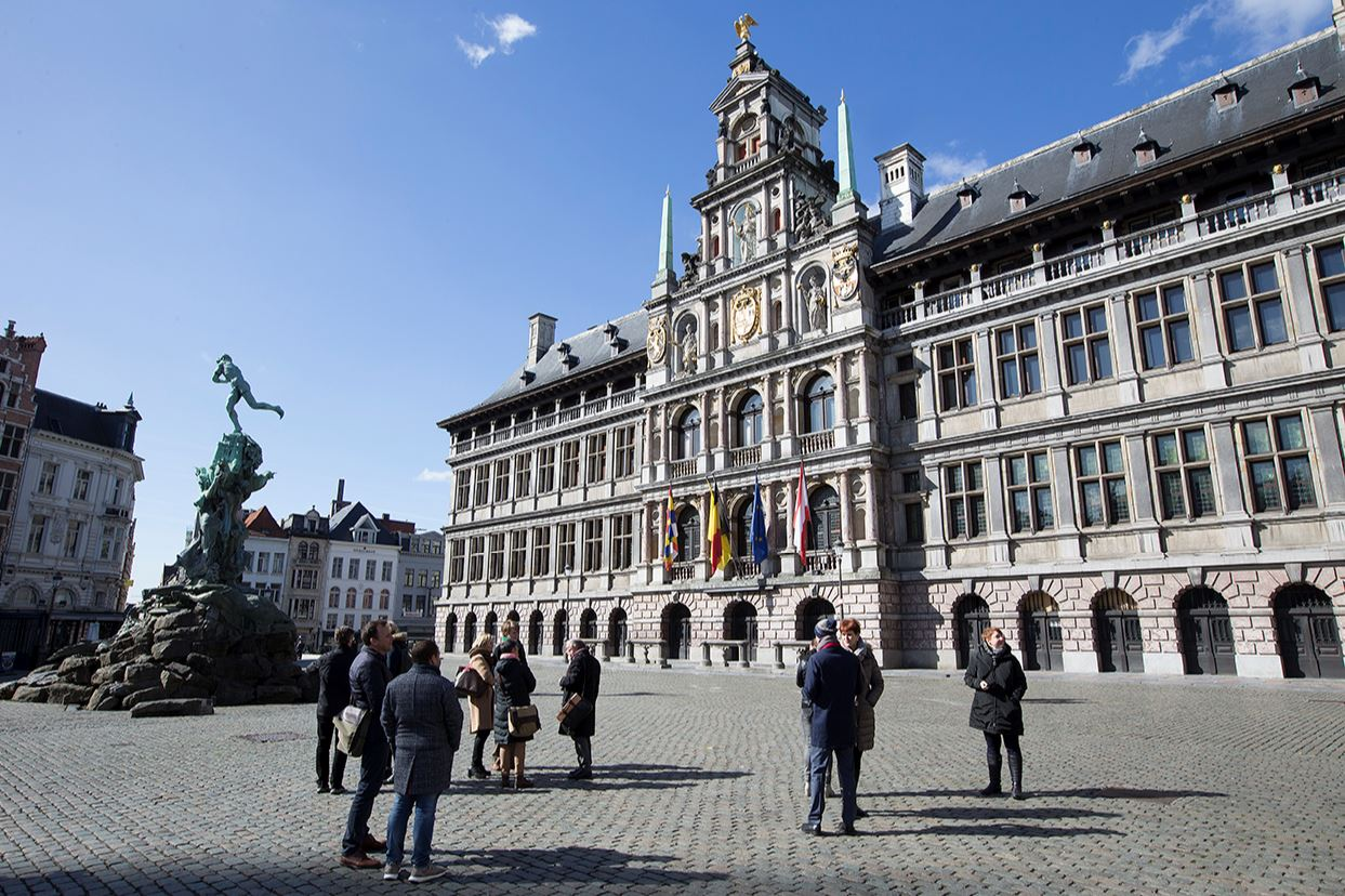 Antwerp City Hall small